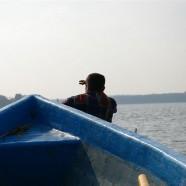 Interwencyjne połowy ryb na jeziorze Oświn